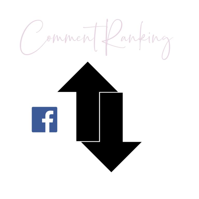Facebooks comment ranking feature 2021